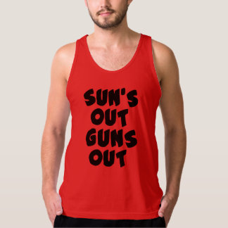 sun's out guns out singlet