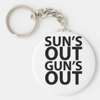suns out guns out tees.png keychain