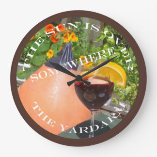 Sun's Over the Yardarm Clocks