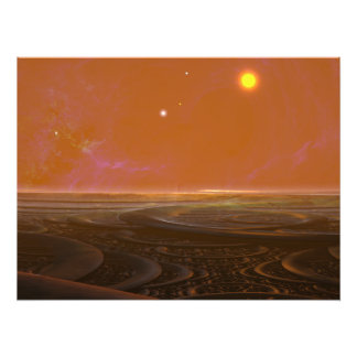 Suns Set Photo Print