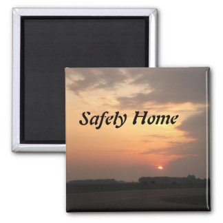 sunset3, Safely Home Magnet
