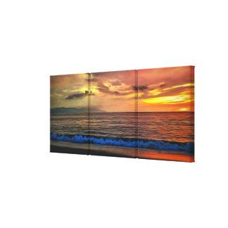 Sunset 1577 canvas print