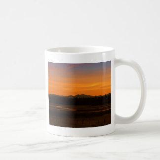 sunset-198 basic white mug
