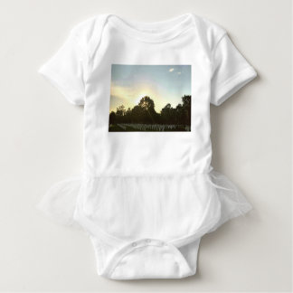Sunset #1 baby bodysuit