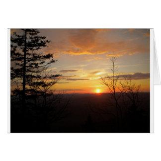 Sunset 2011 card
