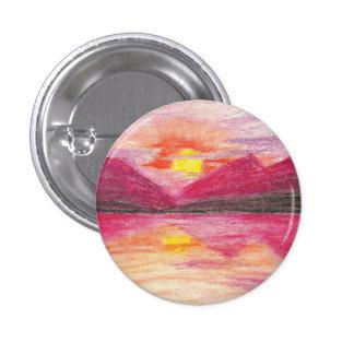 Sunset 3 Cm Round Badge