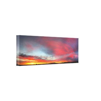 Sunset 4 canvas print