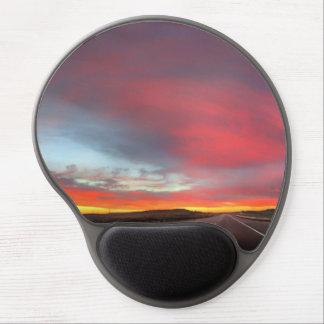 Sunset 4 gel mouse pad