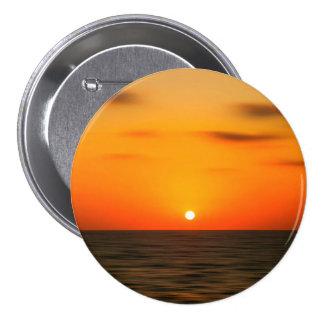 Sunset 7.5 Cm Round Badge