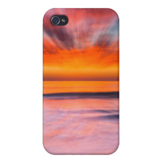Sunset abstract from Tamarack Beach iPhone 4/4S Case
