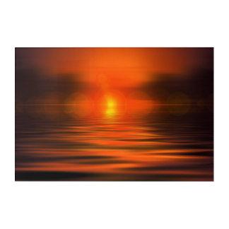 Sunset Acrylic Wall Art