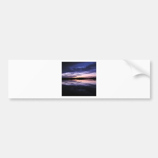 Sunset Afterglow Bumper Stickers