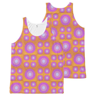 Sunset All-Over Print Singlet