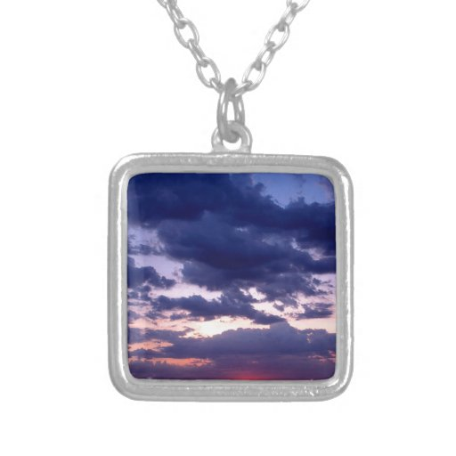 Sunset Amber Grand Island Michigan Custom Necklace