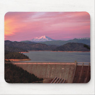 Sunset and Mt. Shasta Mousepad