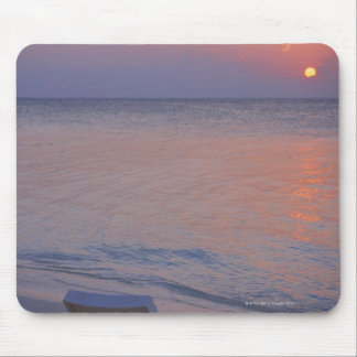 Sunset and Sea Mouse Pad