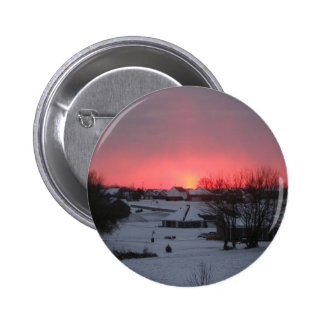 Sunset and Village Button