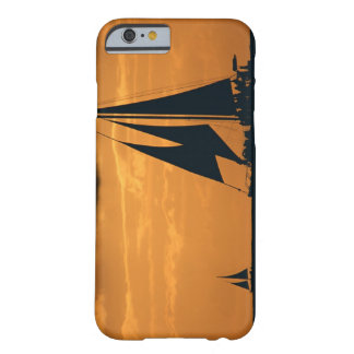 Sunset and Yacht Barely There iPhone 6 Case