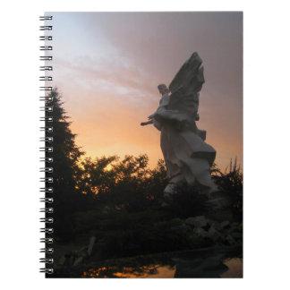 Sunset Angel - Ukraine Note Book