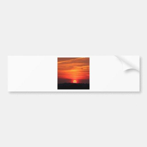 Sunset Apocalypse Bumper Stickers
