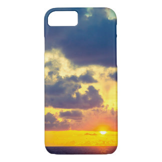 Sunset Apple iPhone 7, Barely There Phone Case