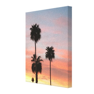 Sunset Arizona Canvas Print
