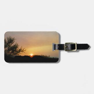 Sunset Arizona Luggage tag