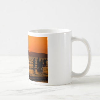 Sunset at Ao Nang beach Coffee Mug