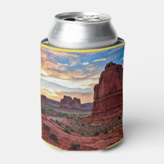 Sunset at Arches Can Cooler
