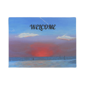 Sunset at Bayport Doormat