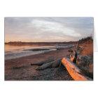 Sunset at Birch Bay Card