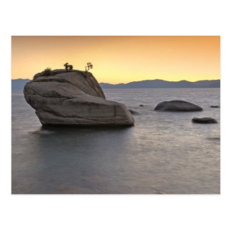 Sunset at Bonsai Rock, Lake Tahoe... Postcard