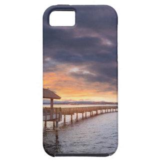 Sunset at Boulevard Park in Bellingham Washington Tough iPhone 5 Case