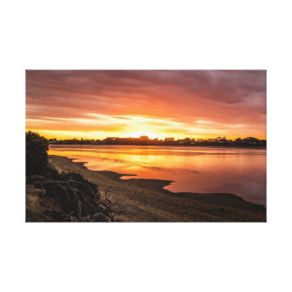 Sunset at Dusk Canvas Print