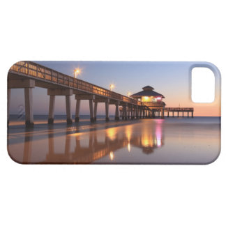 Sunset at Fishing Pier, Fort Myers Beach, Barely There iPhone 5 Case