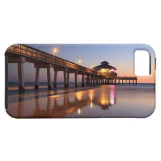 Sunset at Fishing Pier, Fort Myers Beach, iPhone 5 Covers