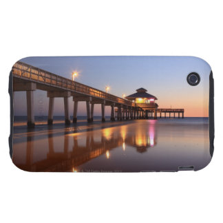 Sunset at Fishing Pier, Fort Myers Beach, iPhone 3 Tough Cases