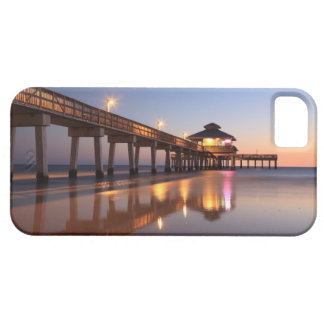 Sunset at Fishing Pier, Fort Myers Beach, iPhone 5 Cases