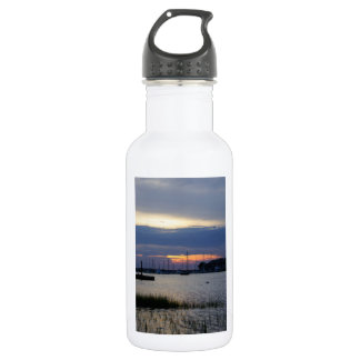 Sunset At Folly Harbor 532 Ml Water Bottle