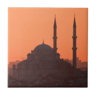 Sunset_at_Istanbul_by_JAMFoto Ceramic Tile