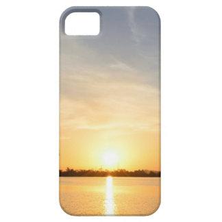 Sunset at lake iPhone 5/5S case