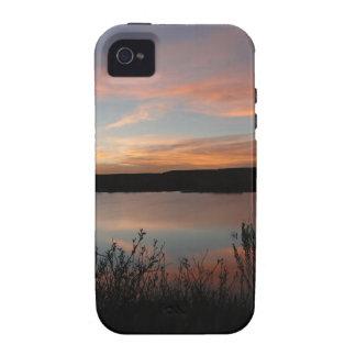 Sunset at Lake Scott State Park - Kansas iPhone 4/4S Cases