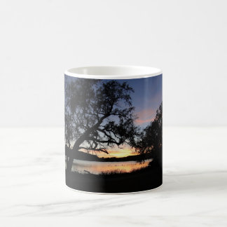 Sunset at Lake Scott State Park - Kansas Sunset Magic Mug