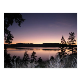 Sunset at Lake Tahoe Postcard