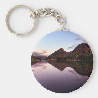 Sunset at Loch Leven, Scotland Key Ring