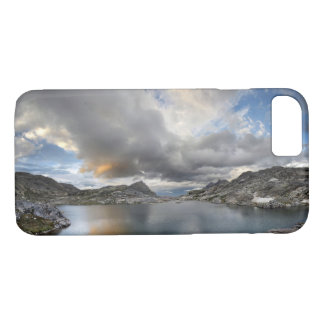 Sunset at Middle Nydiver Lake - Sierra iPhone 8/7 Case
