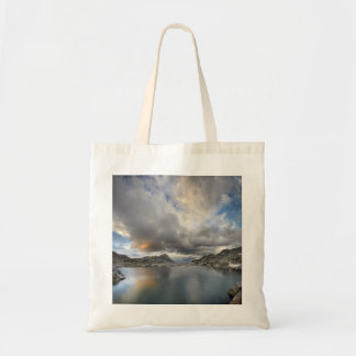 Sunset at Middle Nydiver Lake - Sierra Tote Bag