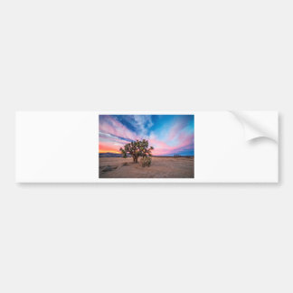 Sunset at Mojave Bumper Sticker