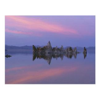 Sunset at Mono Lake, CA. Postcard