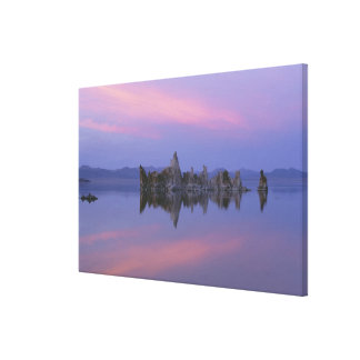 Sunset at Mono Lake, CA. Stretched Canvas Print